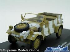 Volkswagen VW KUBELWAGEN Voiture Modèle Typ 82 ukraine 1:43 Taille 1945 militaire armée T