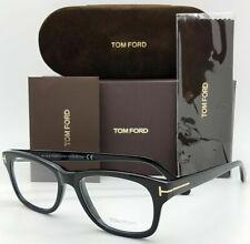 NEW Tom Ford RX Prescription Eyeglasses Black TF5147 001 52mm AUTHENTIC FT 5147