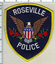 Roseville Police (Michigan)  Shoulder Patch  - new from 1991