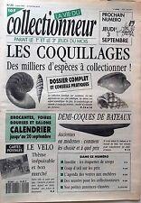 La Vie du Collectionneur n°20- Les Coquillages Demi-coques de bateaux CP Le Vélo