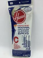 Hoover Type C Vacuum cleaner Replacement Bags 4010003C bottom fill 1-4 pack READ