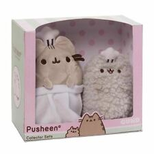Pusheen the Cat and Stormy Baking Chef Collector Plush Cuddly Toy Set by Gund