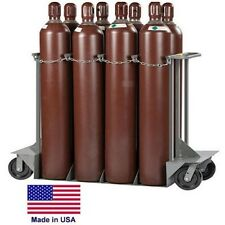 GAS CYLINDER TRUCK Dolly LP Propane Welding Gases Compressed Air - 8 Tank Cap