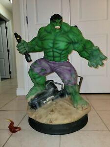 Incredible HULK 1/4 Legacy Replica Statue by Iron Studios Marvel Comics DAMAGED