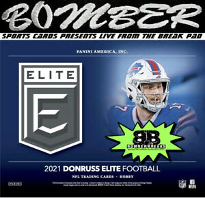 Pittsburgh Steelers 2021 Panini Donruss Elite Football Hobby 4-Box Break 7