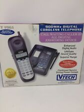 Vtech 900 Mhz Digital Cordless Telephone Answering Call Waiting Vt 1961 New