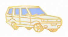 Range Rover Classic Arctic Weiß Anstecker