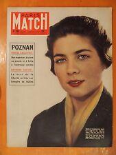 Paris-Match N° 392 du 13/10/1956-Vent de la liberté sur l'empire Staline-Poznan