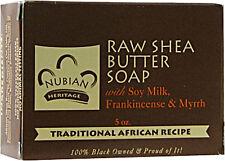 Raw Shea Butter Soap, Nubian Heritage, 5 oz