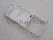Original Nokia N73 A - Cover | Frontcover | Oberschale TIM Logo Weiß White NEU
