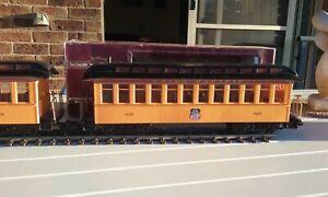 G Scale Bachmann Big Haulers. Classic Coach. Union Pacific. 97201 Yellow