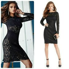 💋💋 $278 GUESS BY MARCIANO PIYA LACE EXCLUSIVE PENCIL DRESS 💋💋