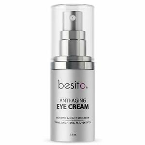 Besito Anti Aging Eye Cream for Dark Circles and Puffiness, Eye Bags Crow's Feet