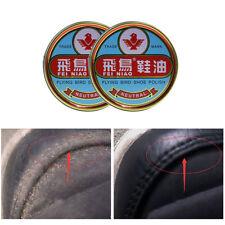 Pro Chaussure Cuir Cire Carnauba Verni Nourrissant Gloss Brillant Protection 40G