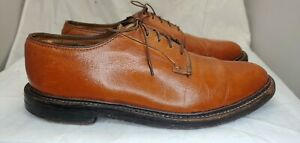 Florsheim Imperial Green Thread 5 Nail V Cleat Pebbled Brown Leather 8 E Brogues