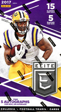 2017 PANINI ELITE DRAFT PICKS FOOTBALL HOBBY SEALED BOX - IN STOCK!