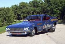 1972 Mr. Norm's Challenger Funny Car Dragster Drag Racing 13x19 Poster Photo 22d