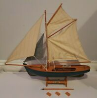 NEW Nauticalia Boat 'The Prawner' Model Wooden Handmade Excel Quality Detail