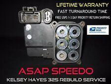 GMC SAFARI VAN  ABS / EBCM COMPUTER MODULE REPAIR / REBUILD SERVICE KH 325