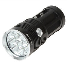 Waterproof SecurityIng 8x CREE XM-L T6 LED 12000LM 3 Modes LED Torch Flashlight