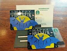 Starbucks Card  Happy Halloween Gift Card 2019 x 2 Cards Thailand New