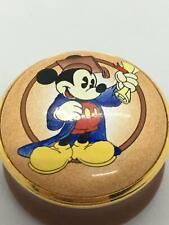 Halcyon Days Trinket Box Mickey Mouse Mickey Classic Graduation 1997 Ltd Ed Nla