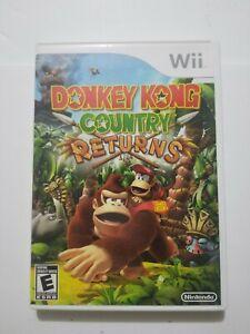 Donkey Kong Country Returns (Nintendo Wii, 2010)  No Manual
