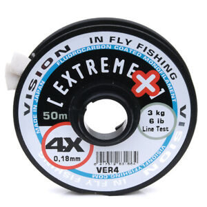 Vision Extreme + Fly Leader Tippet Material - 50m Spools