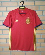 Spain Home football shirt 2015-2016 Size S jersey soccer Adidas