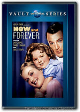 Now and Forever DVD New Gary Cooper Carole Lombard Shirley Temple