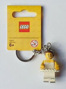 LEGO Ballerina Keychain/Keyring - Minifigure Series 853667 (Retired)