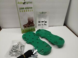 Lawn Aerator Shoe Spikes Grass Soil Yard Sandals Boots Soles Adjustable Straps