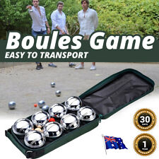 Boules Game 8 Balls Bocce Other Outdoor Toys Petanque Jack Games Family Play NEW