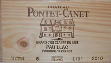 Château Pontet Canet 2010, Grand Cru Classé Pauillac - 100 points Parker