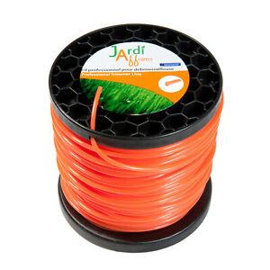 Bobine de fil professionnel Rond pour débroussailleuse 4,4mm x 53 mètres
