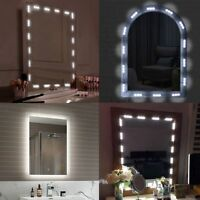 1800LM 60LED Vanity Mirror Lights Kit Dimmable Strip for Makeup Dressing Table