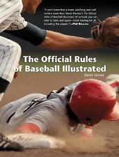 The Official Rules of Baseball Illustrated-ExLibrary