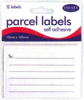 Box Labels Self Adhesive Shipping Stickers Lined Ruled Royal Mail Courier Parcel