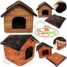Cat Small Dog House Bed Kitten Pet Igloo Box Cube Cave Puppy Sleeping Cozy Hut