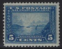 US Stamps - Scott # 399 - 5c Golden Gate - Mint OG Light Hinge           (H-188)