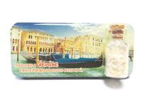 Venedig Lagune Foto Magnet 9cm Epoxid Sandfläschen Souvenir Italien