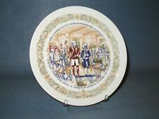 Lafayette Legacy Collection Plate 3, With Washington at City Tavern Philadelphia