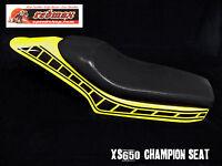 XS650 YAMAHA FLAT TRACK SEAT ,CHAMPION FLATTRACKER STYLE ,FITS XS AND OTHERS .