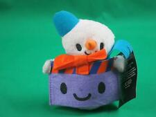 NEW PAPERCHASE MUSICAL GIFT CARD CARRIER HOLDER SNOWMAN CHRISTMAS PLUSH STUFFED