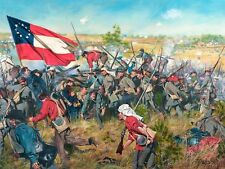 """""""Never Give Up the Field"""" Don Troiani Civil War Print - Battle of First Manassas"""