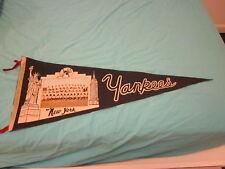 1965 Team Photo Pennant New York Yankees