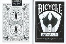 CARTE DA GIOCO BICYCLE BLACK TIE,poker size