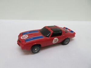 Vintage Bachmann SUPERTRAX 1/32-1/43 scale SLOT CAR Red Camaro