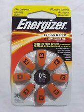 ENERGIZER AZ13DPA-8 1.4V ZINC AIR BATTERIES BB:2020 FOR HEARING AID - NEW RRP$20
