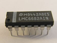 LMC6682AIN NSC  Dual Low Voltage, Rail-To-Rail Input and Output CMOS Amplifier